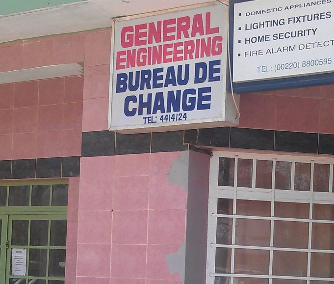 General engineering bureau de change gambia co ltd for Bureau change