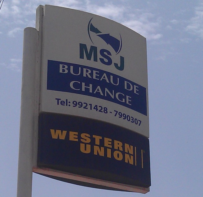 Msj bureau de change gambia ltd for Bureau change