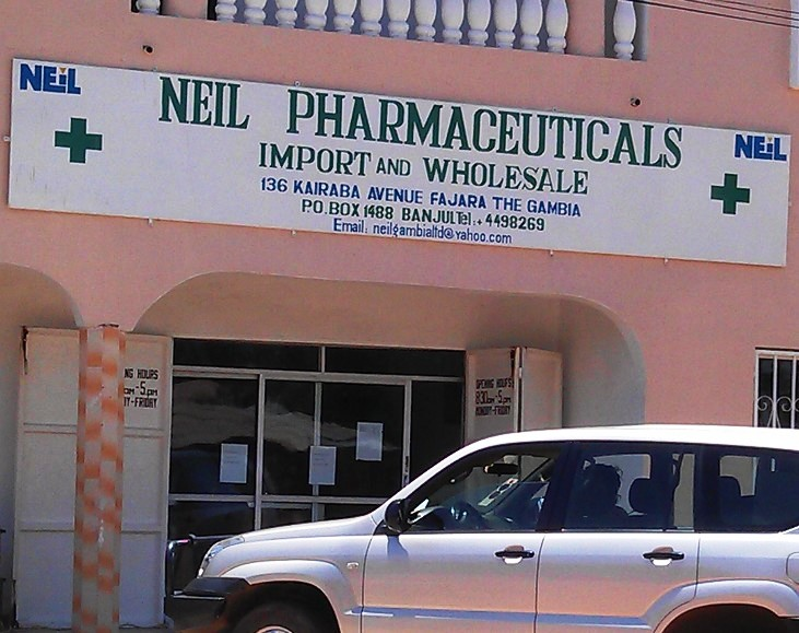 Neil Pharmaceuticals Gambia Company Limited