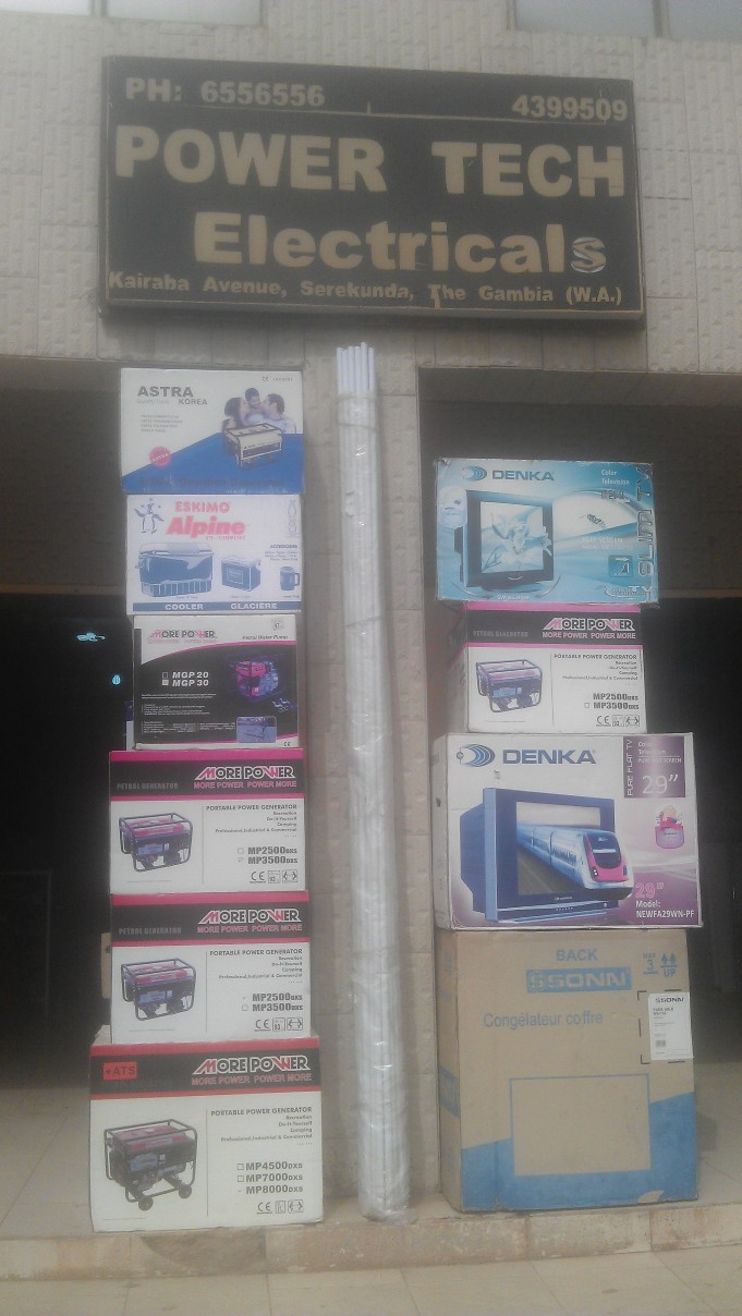 Power Tech Electricals Gambia Co  Ltd