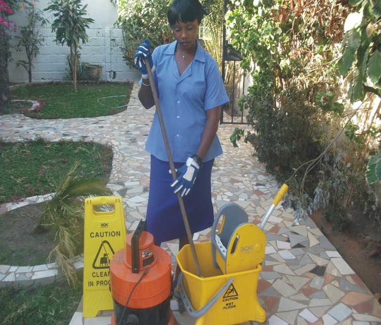 Ippas atlantic cleaning services gambia co ltd for Garden cleaning services