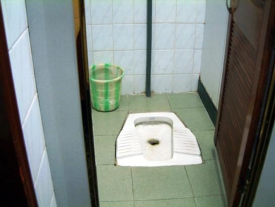 Gambia toilets pit latrines & bathing