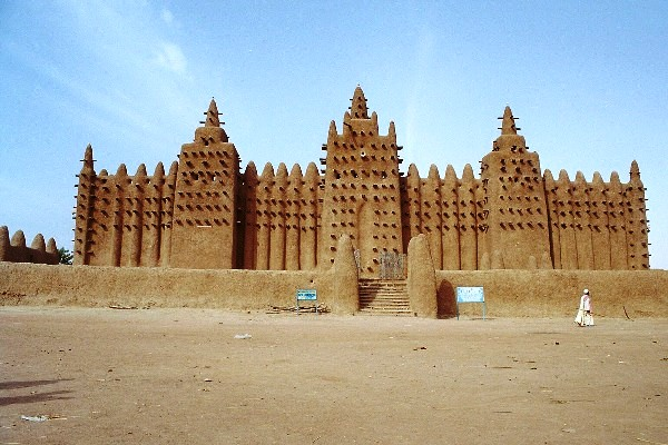 Great Mosque of Djenné (CC)