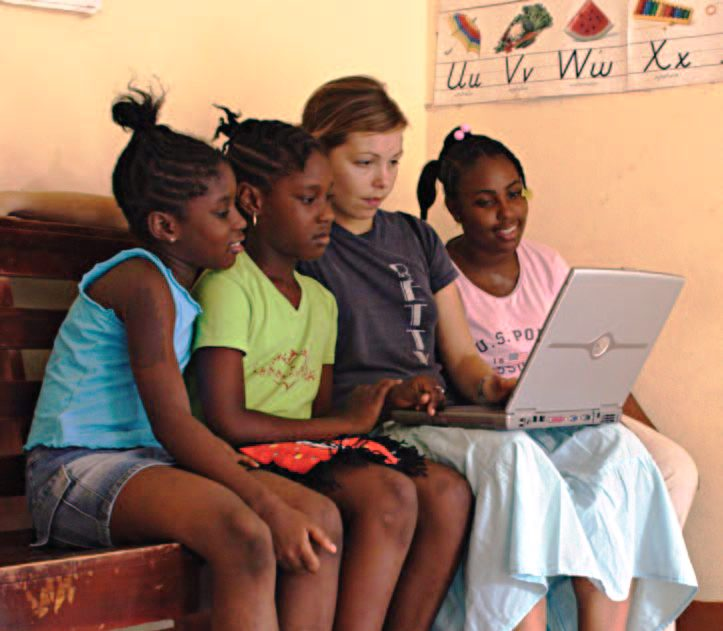 working for the peace corps