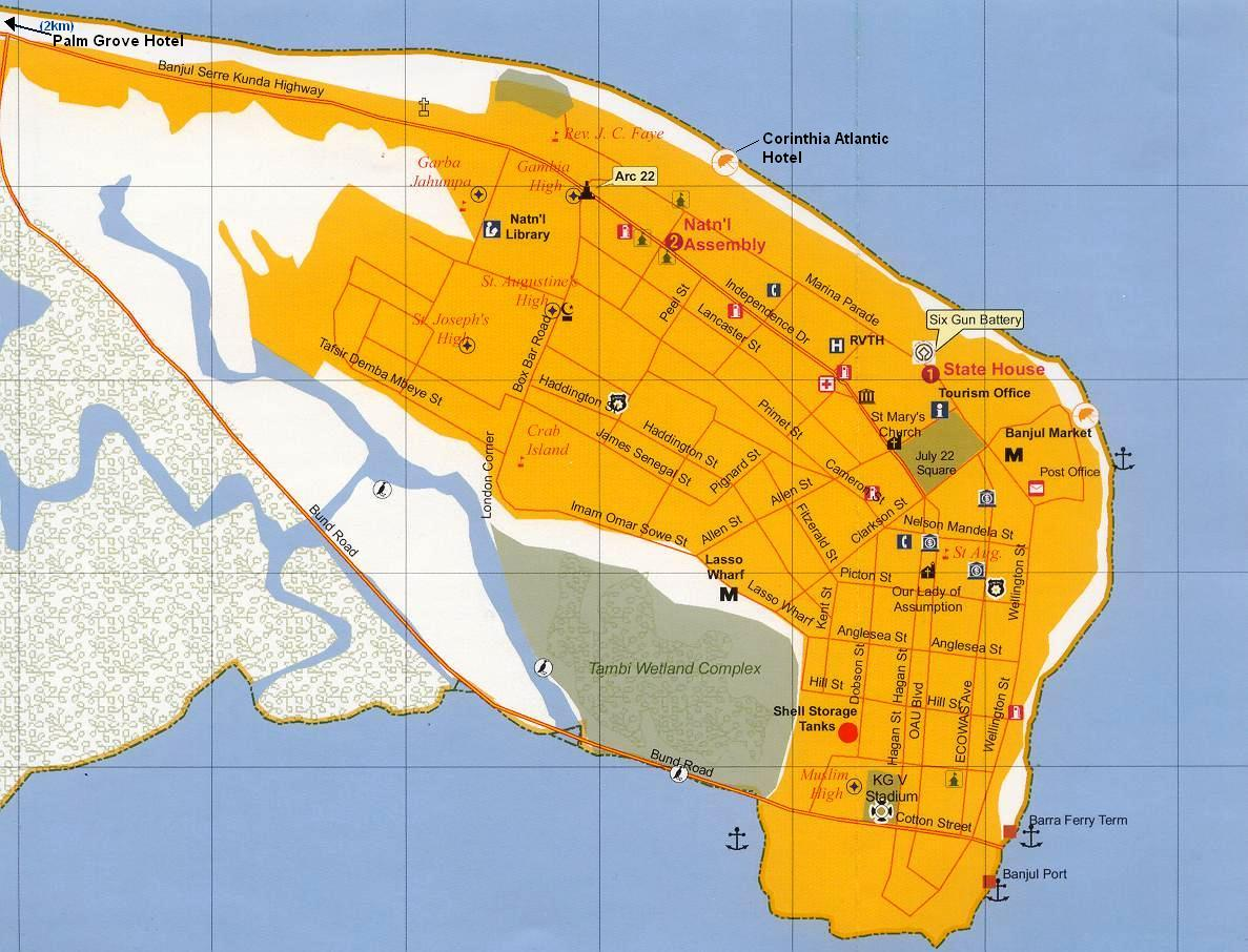 Banjul Gambia Cruise Port of Call