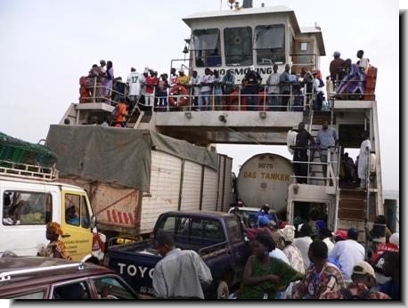 Image result for Gambia Ferry