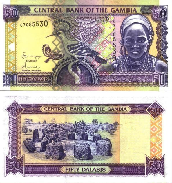 Gambia Money Information Dalasi