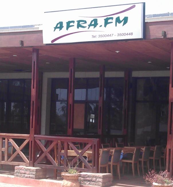Afra Fm Bar Amp Restaurant Kololi Gambia Bar