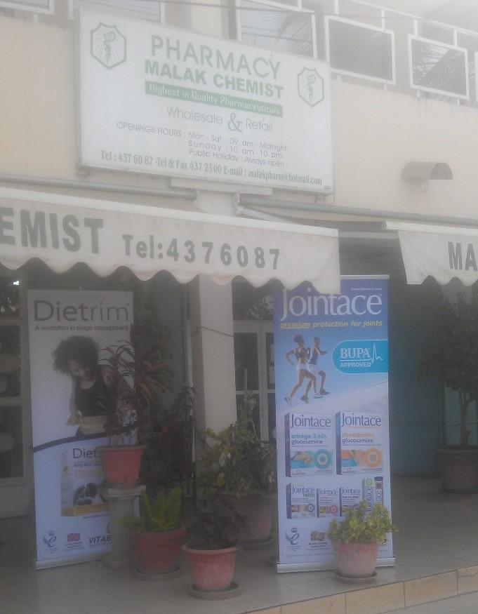 Malak Chemist Gambia Co  Ltd