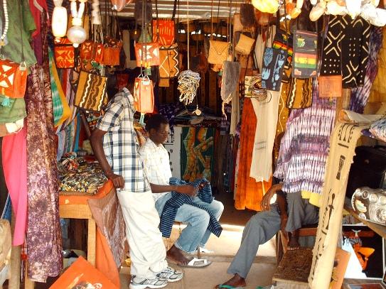 Bakau Craft Market Gambia